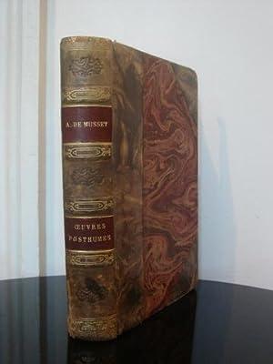 uvres de Alfred de Musset. Oeuvres Posthumes.: Alfred de Musset