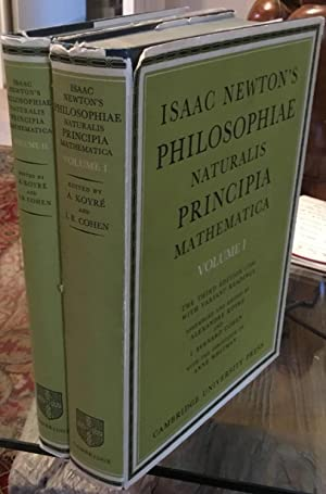 Isaac Newton's Philosophiae Naturalis Principia Mathematica: Volumes 1 and 2: The Third Edition (...
