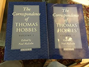 The Correspondence of Thomas Hobbes: Volume I: 1622-1659 (Clarendon Edition of the Works of Thoma...