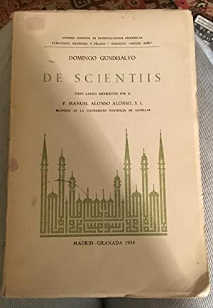Dominigo Gundisalvo De Scientiis