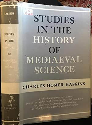 STUDIES IN THE HISTORY OF MEDIAEVAL SCIENCE