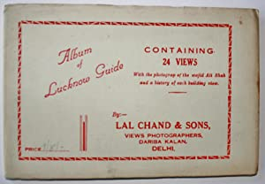 Album of Lucknow Guide Containing 24 Views: Lal Chand and