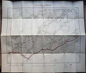 Ordnance Survey Military Map of German East Africa / Tanganyika Territory: Massassi (Series: ...
