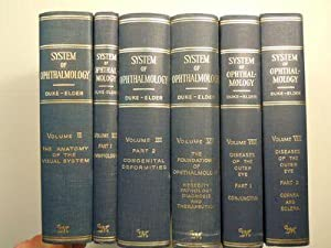 Duke-Elder's System of Ophthalmology [6 volumes]: Duke-Elder, Sir Stewart