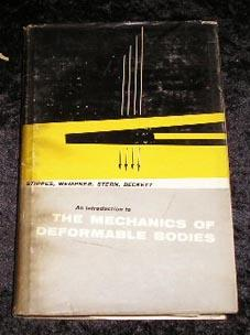 An Introduction to the Mechanics of Deformable: Marvin Stippes, Gerald
