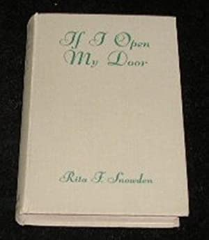 If I Open My Door: Rita F Snowden