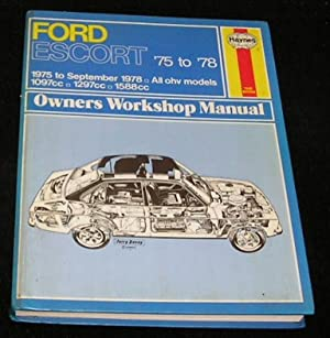 J H Haynes Ford Escort Owners Workshop Manual Abebooks Rh Abebooks Co Uk  Ford Fairlane  Ford Gt