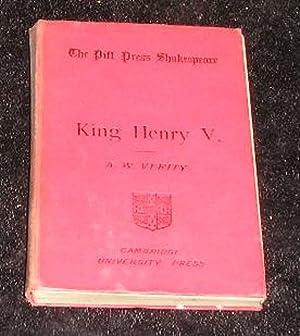 King Henry V: A W Verity