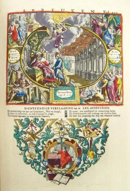 t Groot Waerelds Tafereel, Waar in de Heilige en Waereldsche Geschiedenissen en Veranderingen ...