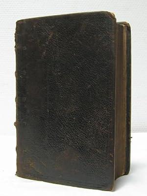 Biblia Hebraica, Secundum ultimam editionem Jos. Athiae, a Johanne Leusden. Denuo recognitam, ...
