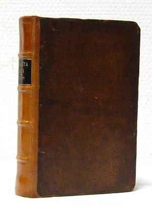 Analecta Sacra: sive Excursus Phililogica breves Super diversis S. Scripturae locis Praecipue Qua, ...