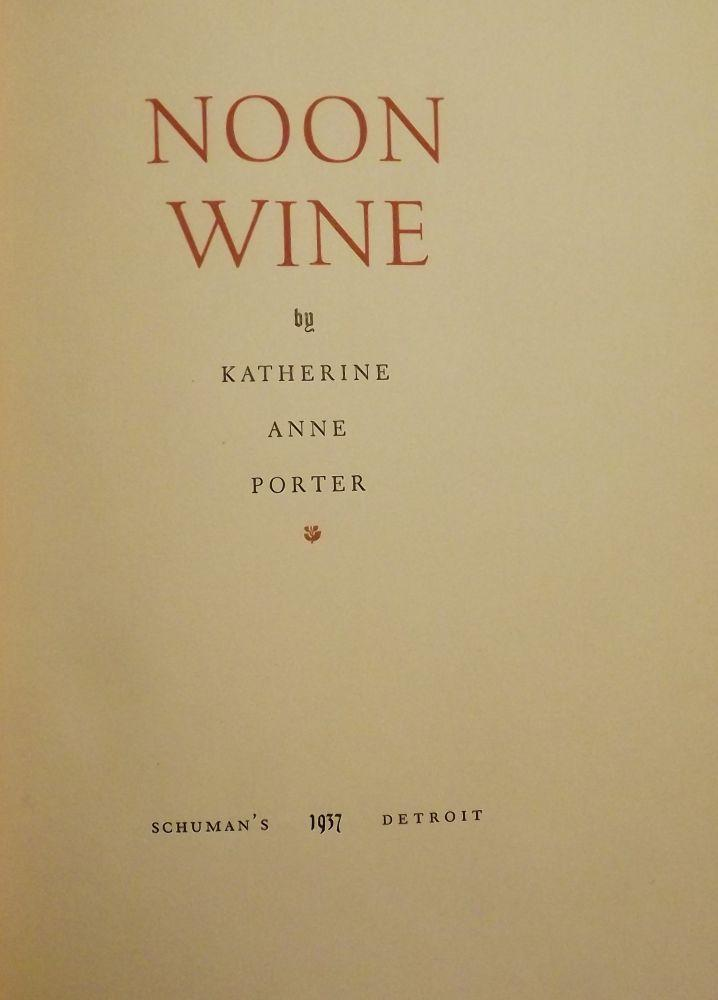 the witness by katherine anne porter's Katherine anne porter n ationally acclaimed writer callie russell porter was born in indian creek, texas, on may 15, 1890 known by her penname katherine ann porter, she died in a college park, maryland nursing home on september 18, 1980.