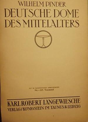 DEUTSCHE DOME DES MITTELALTERS: PINDER, Wilhelm