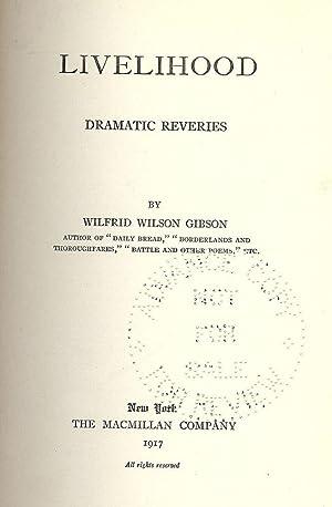 LIVELIHOOD: GIBSON, Wilfrid Wilson