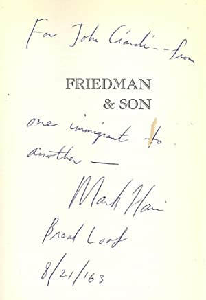 FRIEDMAN AND SON: HARRIS, Mark