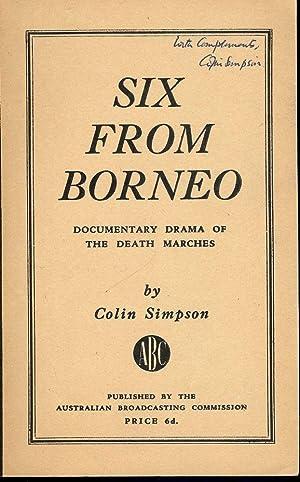 SIX FROM BORNEO: SIMPSON, Colin