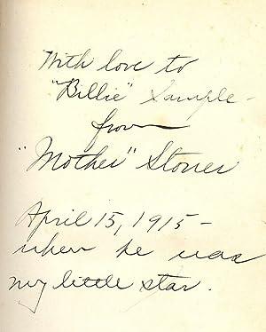 NATURAL EDUCATION: STONER, Winifred Sackville