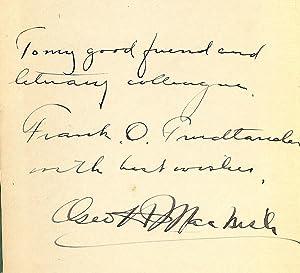 THE MASTER OF EVOLUTION: MACNISH, George H.