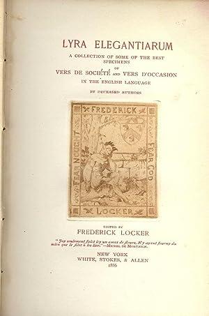 LYRA ELEGANTIARUM: LOCKER, Frederick