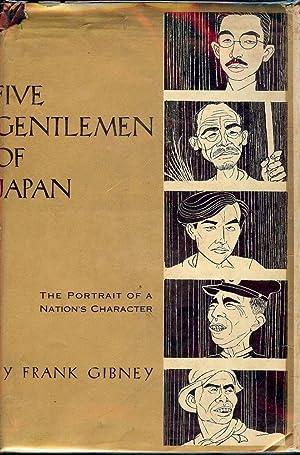 FIVE GENTLEMEN OF JAPAN: GIBNEY, Frank