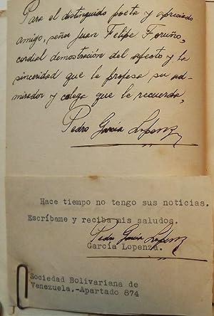 VOCES DE LA TIERRA AHCHA: LOPENZA, Pedro Garcia