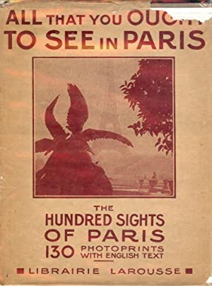 THE HUNDRED SIGHTS OF PARIS: BONFILS, Robert