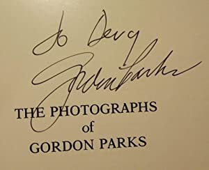 THE PHOTOGRAPHS OF GORDON PARKS: BUSH, Martin H.