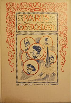 PARIS OF TO-DAY.IN THE SCARCE DUST JACKET