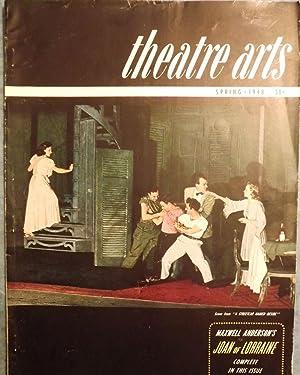 JOAN OF LORRAINE. In Theatre Arts Magazine,: ANDERSON, Maxwell