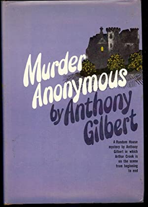 MURDER ANONYMOUS: GILBERT, Anthony