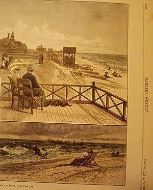 SANDY HOOK/ELBERON/SEA BRIGHT: HARPER'S WEEKLY