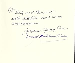 OWEN D. YOUNG AND AMERICAN ENTERPRISE: A BIOGRAPHY: CASE, Josephine Young
