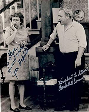 ALL IN THE FAMILY: SIGNED PHOTOGRAPH: O'CONNOR, Carroll