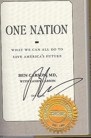 ONE NATION: CARSON, Ben