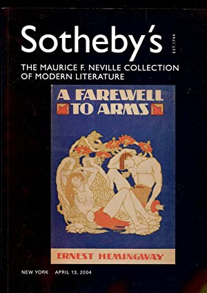 MAURICE F. NEVILLE COLLECTION MODERN LITERATURE PARTS: SOTHEBY'S