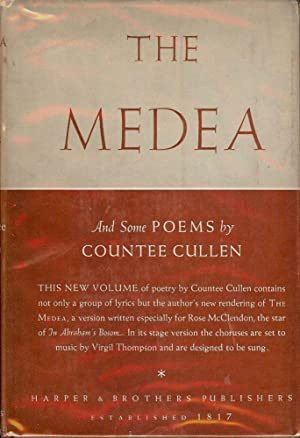 THE MEDEA AND SOME POEMS: CULLEN, Countee