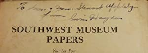 SOUTHWEST MUSEUM PAPERS 4: ARCHEOLOGICAL EXPLORATIONS SOUTHERN NEVADA: HAYDEN, Irwin