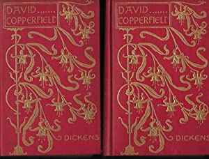 DAVID COPPERFIELD. TWO VOLUMES, ART NOUVEAU BINDING