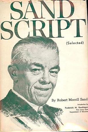 SAND SCRIPT SELECTED: SAND, Robert Morrill