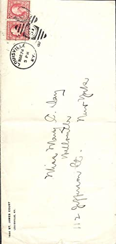Autograph Manuscript Signed: RICE, Cale Young