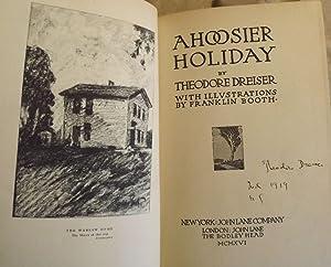A HOOSIER HOLIDAY: DREISER, THEODORE