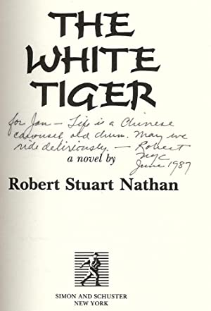 THE WHITE TIGER: NATHAN, Robert Stuart