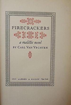 FIRECRACKERS: VAN VECHTEN, Carl