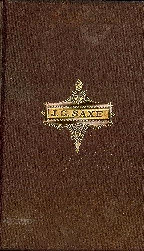 LEISURE-DAY RHYMES: SAXE, John Godfrey