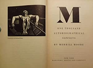 M: ONE THOUSAND AUTOBIOGRAPHICAL SONNETS: MOORE, Merrill