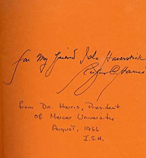 THREE MODES OF MODERN SOUTHERN FICTION: HOLMAN, C. Hugh