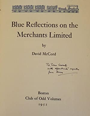 BLUE REFLECTIONS ON THE MERCHANTS LIMITED: McCORD, David