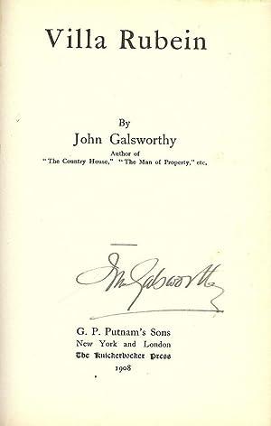 VILLA RUBEIN: GALSWORTHY, John