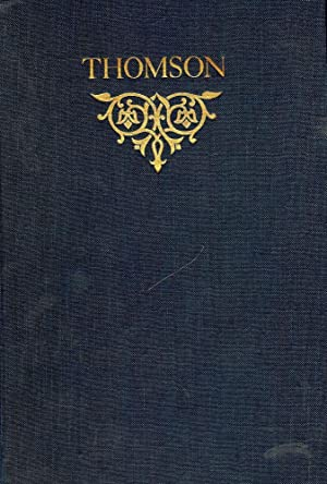 THE COMPLETE POETICAL WORKS OF JAMES THOMSON: THOMSON, James