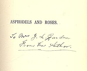 ASPHODELS AND ROSES: FLOWERS OF LIFE AND LOVE: GOLDE, Cyprus